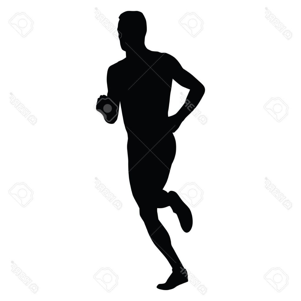 1024x1024 Best Vector Runner Running Man Silhouette Run Sport Active Boy