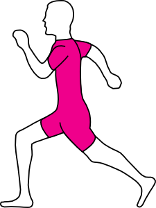 225x300 Running Man Clip Art