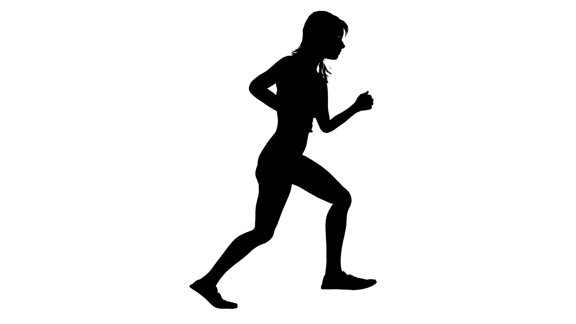 Running Person Silhouette