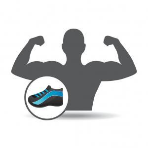 300x300 Photostock Vector Running Shoe Icon Sports Shoe Symbol Training