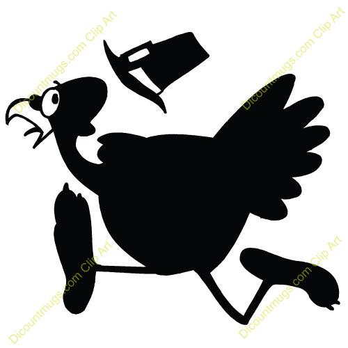 500x500 Shadow Clipart Turkey