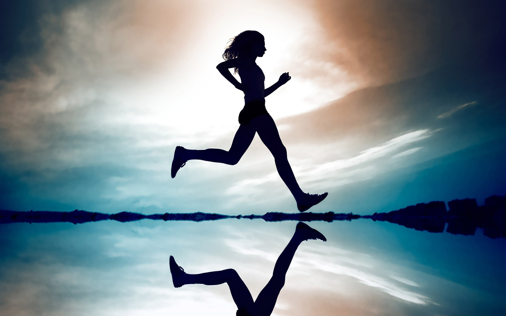 1920x1200 Girl Running. Android Wallpapers For Free.