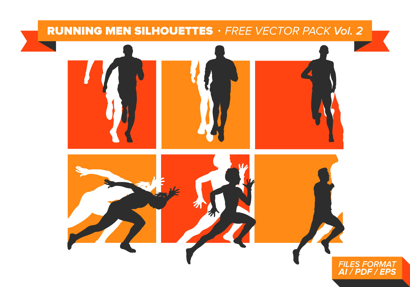 1400x980 Running Silhouette Vector Download Shops Outcast.gq