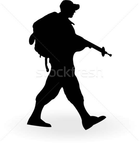 578x600 Soldier Silhouette Stock Photos, Stock Images And Vectors Stockfresh