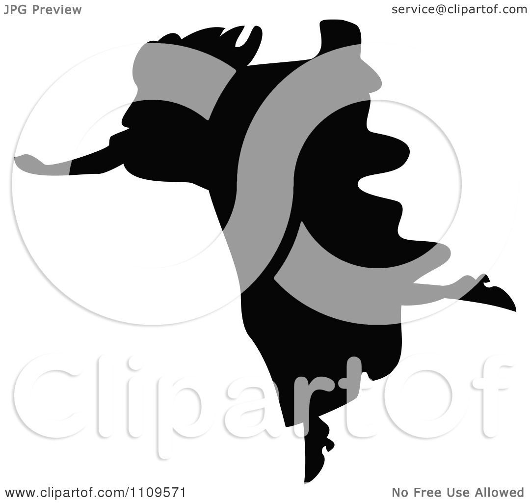 1080x1024 Clipart Silhouetted Woman Running