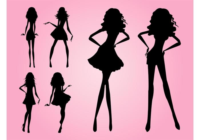 700x490 Models Silhouettes