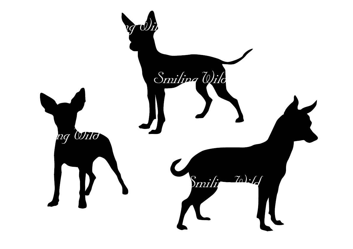 1191x842 Toy Terrier Svg Silhouette Russian Toy Terrier Clipart Dog Clip