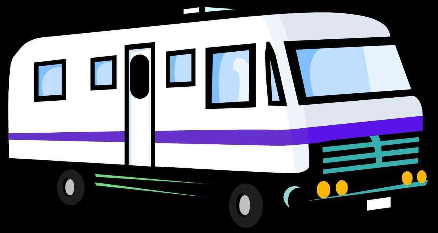 rv silhouette at getdrawings com free for personal use rv rh getdrawings com tv clipart free