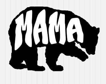 340x270 Mama Bear Vector Etsy