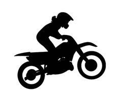 236x199 Motocross Silhouette Dirt Bike