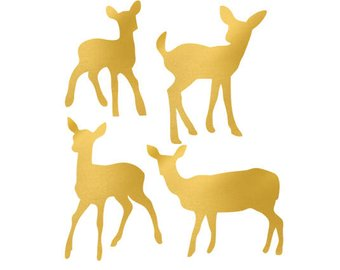 340x270 Safari Animals Gold Foil Clip Art Png Svg Dxf File File
