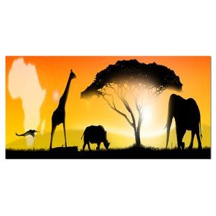 310x310 African Safari Wall Art Wayfair