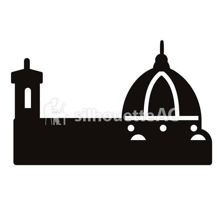 750x750 Free Silhouette Vector Icon, Italy
