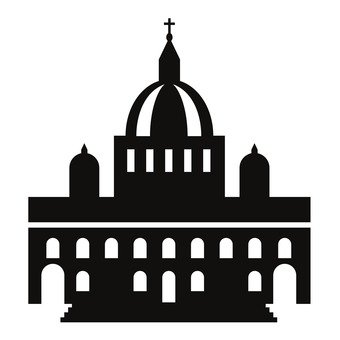 340x340 Free Silhouettes Icon, Up, Italy