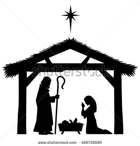 450x470 17 Best Simply Christmas Images On Silhouette, Sagrada