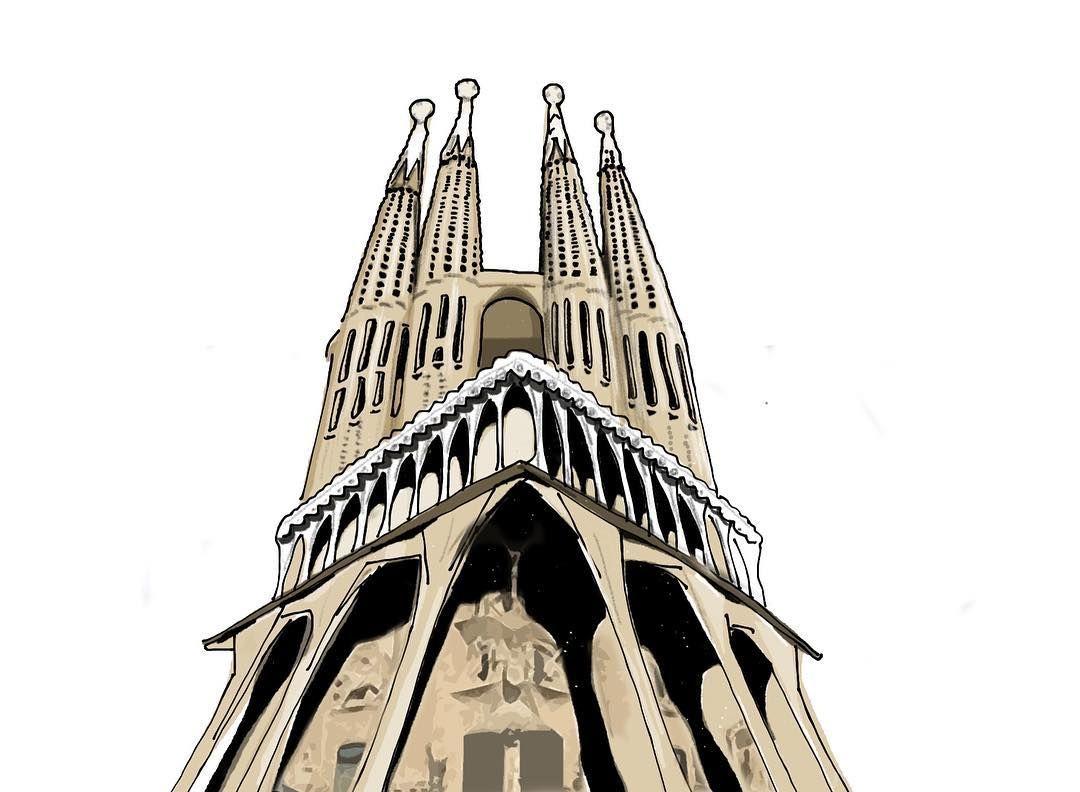 1080x792 Sagrada Familia