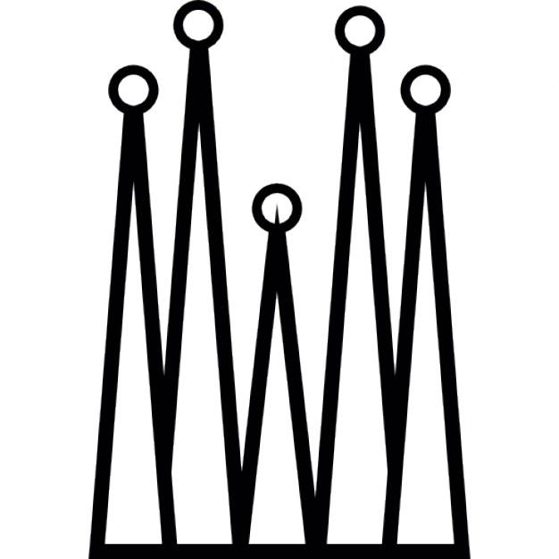 626x626 Sagrada Familia Building, Ios 7 Symbol Icons Free Download