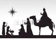 236x190 Sagrada Familia Silhouettte Navidad, Vectorial