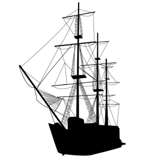 316x316 Free Vector Sailboat Silhouettes 123freevectors