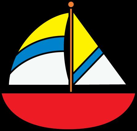 445x425 Row Boat Clipart Sailing Boat