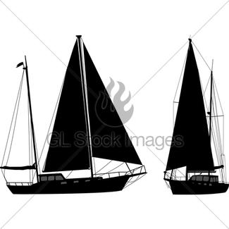 325x325 Sailboat Sketch Illustration Gl Stock Images
