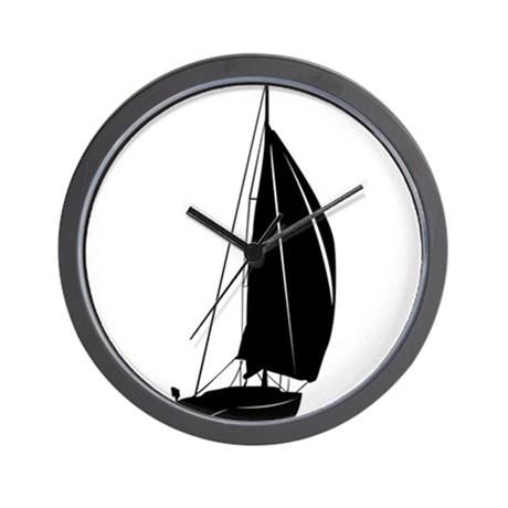 460x460 Sailboat Wall Clocks