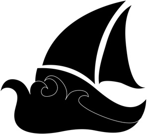 300x269 Sailboat Clipart Image Clip Art Silhouette Of A Sailboat Image