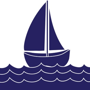 300x300 Sailboat Clipart Silhouette Free Images