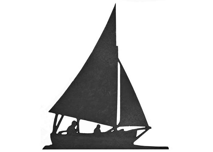 700x500 Sailing Boat Silhouette
