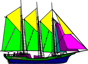 Sailboat Clipart Silhouette
