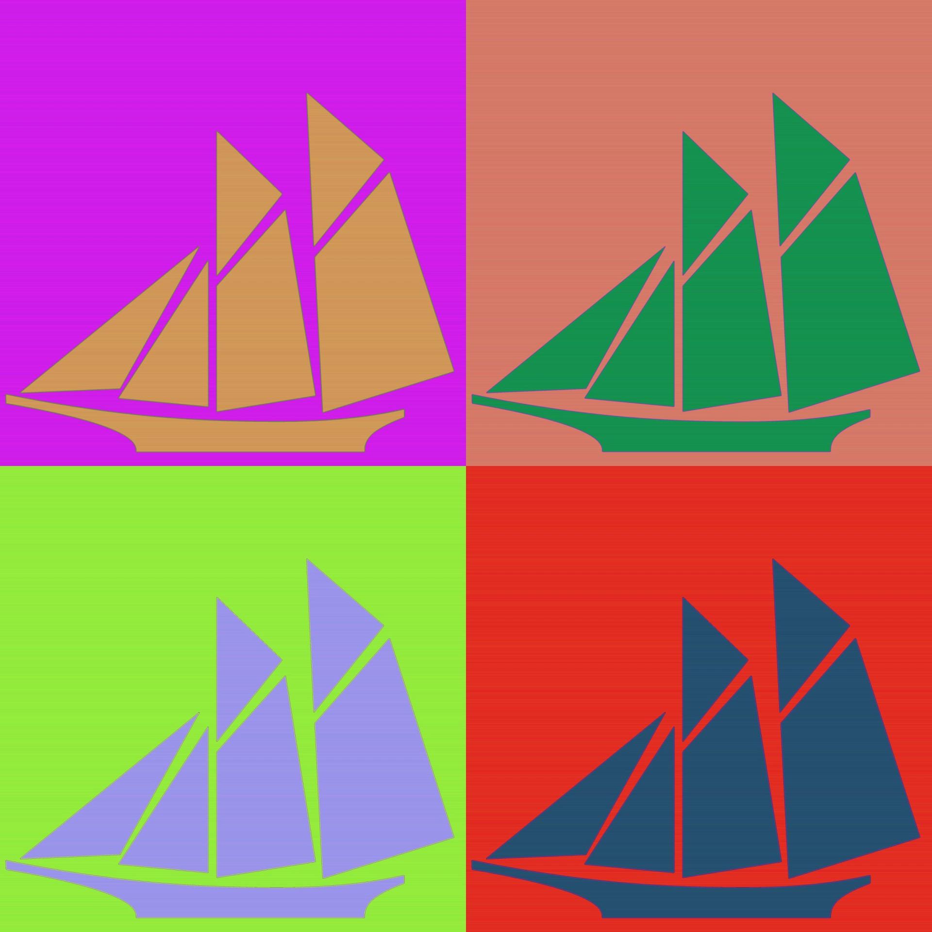 1920x1920 Sailboat Silhouette 2 Free Stock Photo