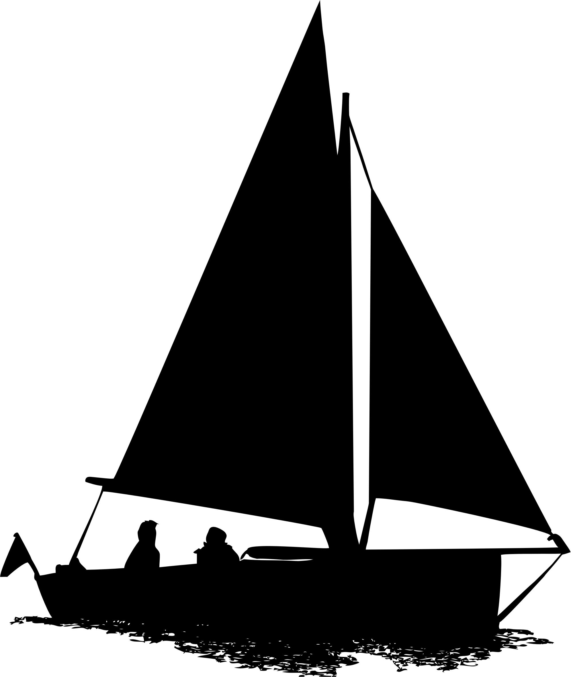 1992x2362 Sailboat Silhouette 2 Icons Png