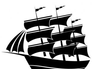 310x233 Sailboat Silhouettes Vector Pack.ai Free Vectors Ui Download