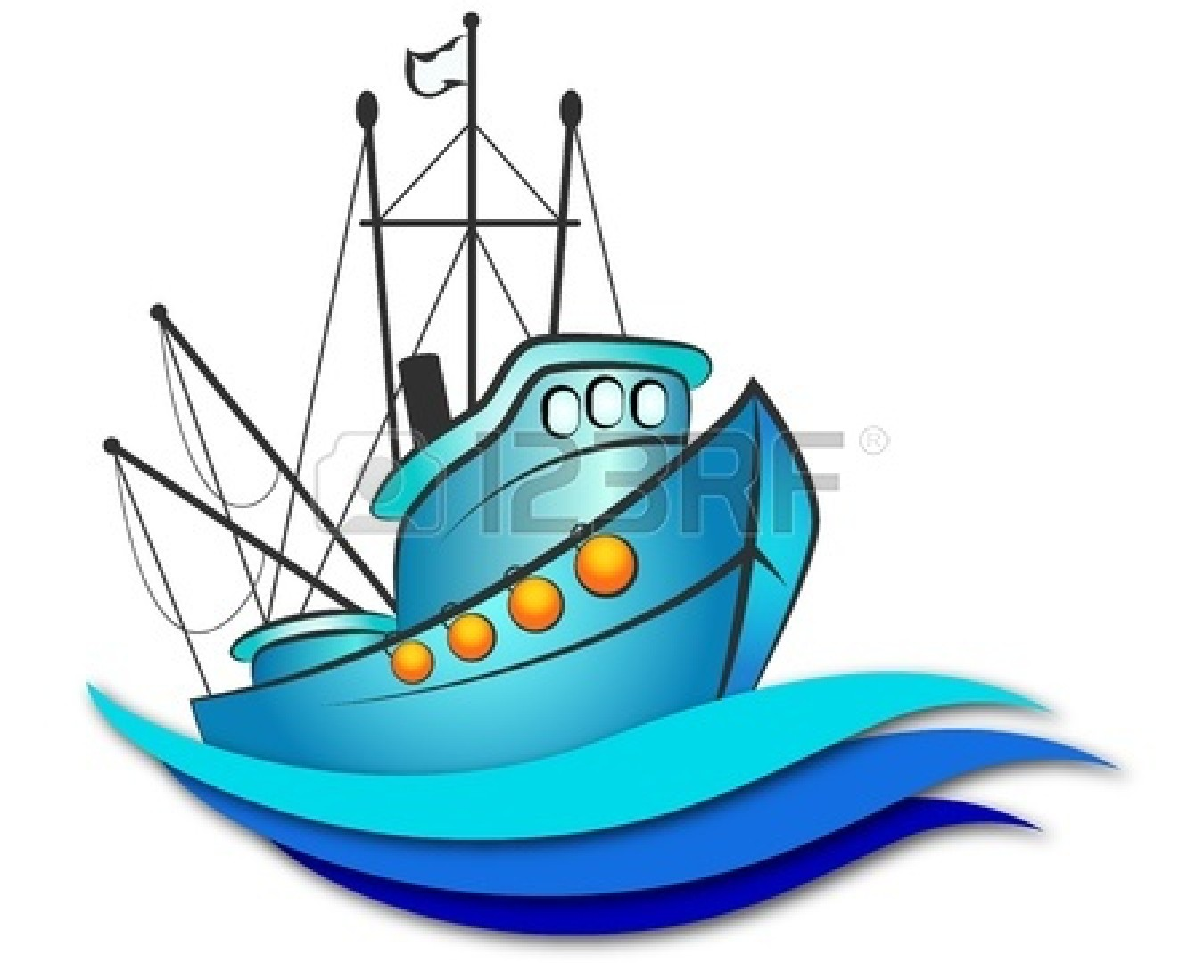 1350x1080 Sailboat Clipart Fishing Boat