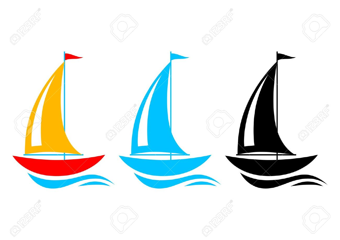 1300x919 Sailing Boat Clipart Vector Art