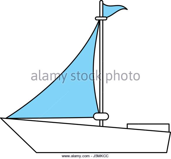 583x540 Boat Silhouette Vector Stock Photos Amp Boat Silhouette Vector Stock