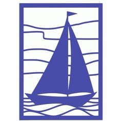 236x236 Stained Glass Sailboat Nightlight Stained Glass Nightlights