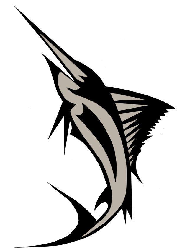 600x849 Swordfish Graphic Mike Jake Memorial Tattoo Ideas