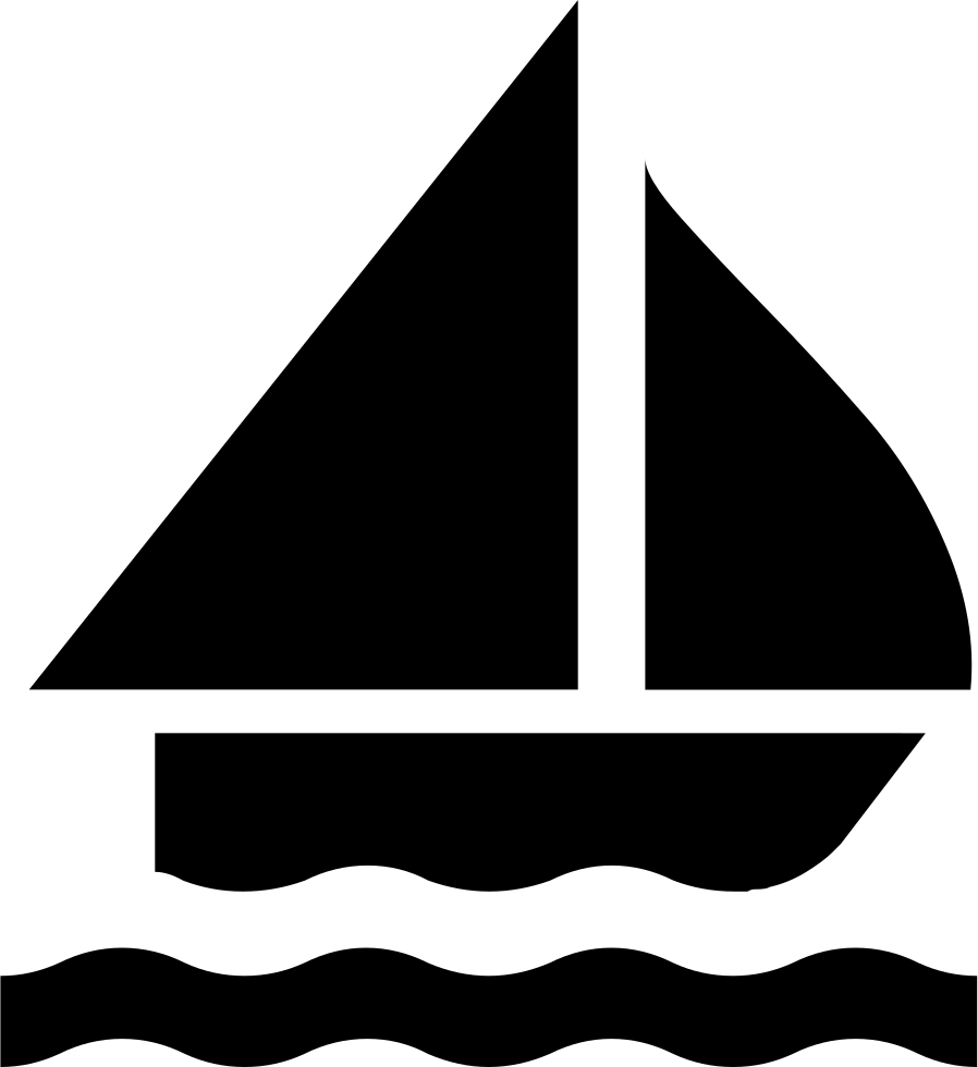 898x980 Sailing Boat Silhouette Svg Png Icon Free Download ( 8791