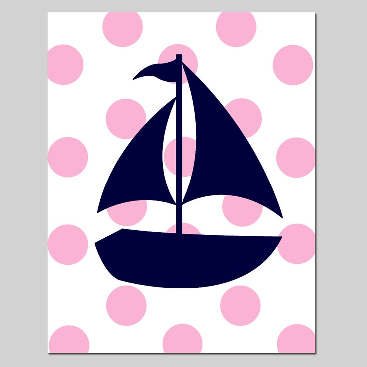 736x736 Sailing Boat Clipart Pink