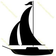 236x236 Sailing Clipart Silhouette Many Interesting Cliparts
