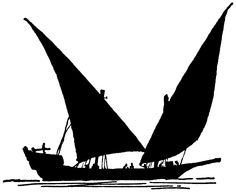236x193 Sailing Boat Silhouette Www.labandedesfaineantes.blogspot.it