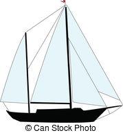 179x194 Sailing Boat Vector Silhouettes Vector Clip Art