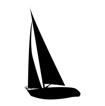 339x340 Free Silhouettes Toy, Silhouette, Boat