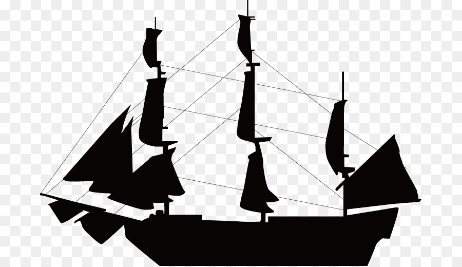 900x520 Sailboat Ship Silhouette Clip Art