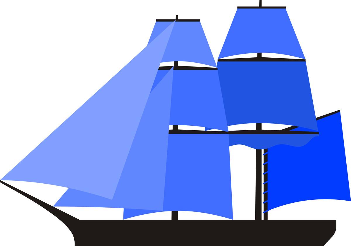 1200x840 Sailing Boat Silhouette Clipart Free Stock Photo Public Domain