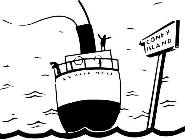 600x451 Sailing Ship Cartoon Silhouette Clip Art Free Vector In Open
