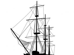 310x233 Sailing Silhouettes Vectors Free Vectors Ui Download