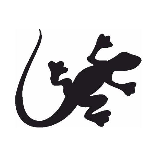 Salamander Silhouette
