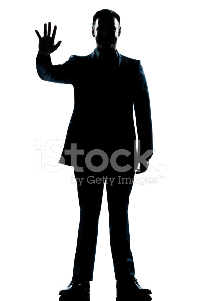 682x1024 Silhouette Man Full Length Saluting High Five Stock Photos
